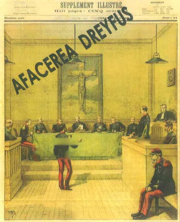 Căpitanul Dreyfus în fața Consiliului de Război