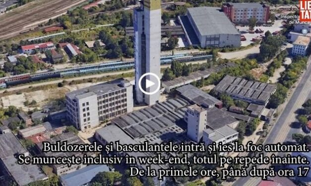 Sorin Mihăilescu – Istoria demolării turnului IFMA