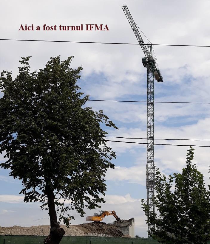 Aici a fost Turnul IFMA