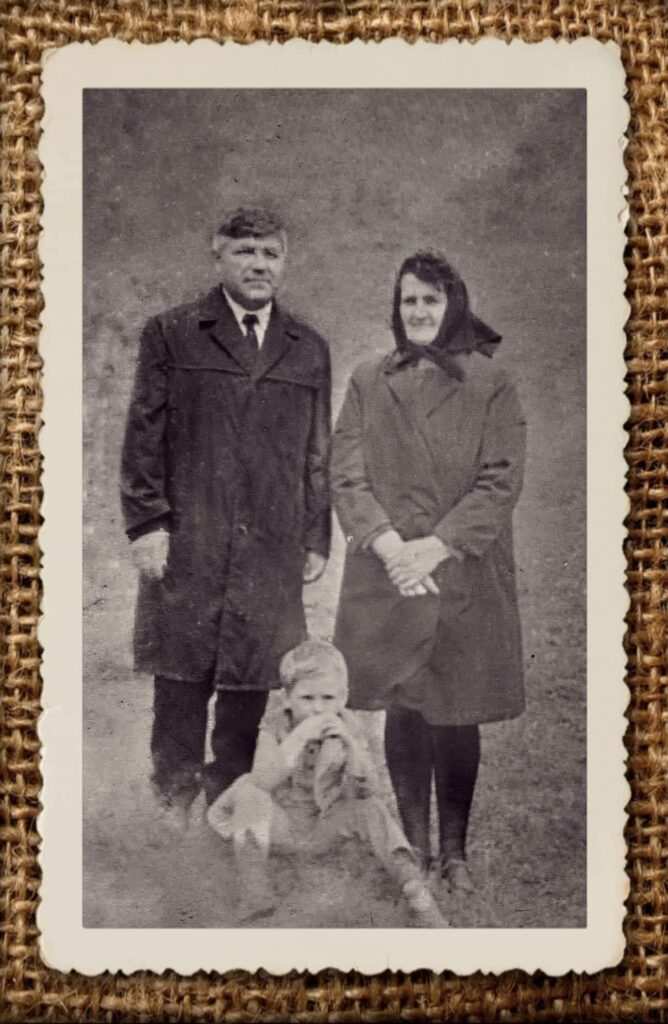Alexandru Cuc - Cu părinții
