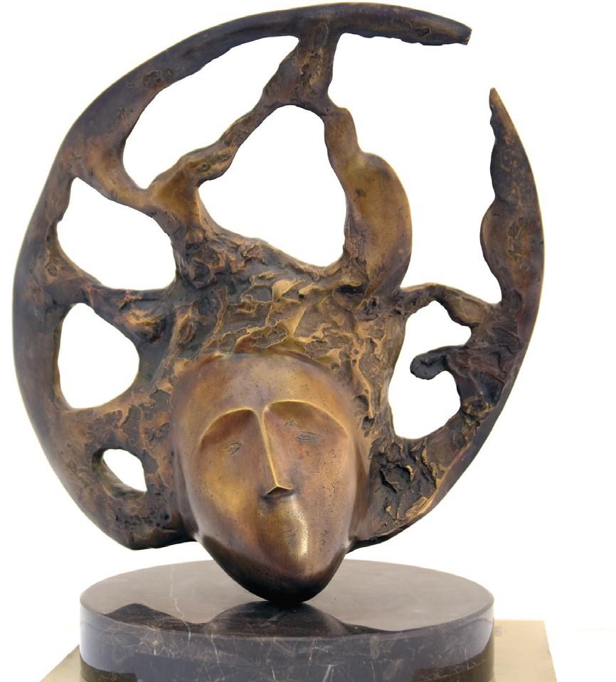 Anton RAȚIU - CÂNTEC - bronz H 40 cm 1996 - 97