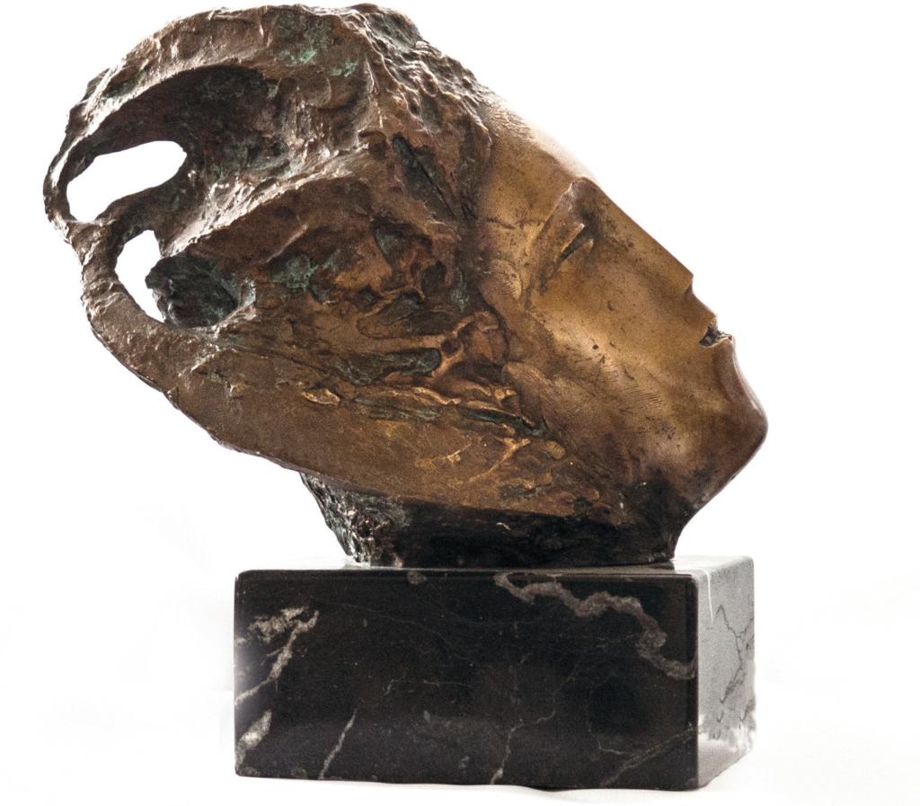 Anton Rațiu - REVERIE bronz H 30 cm 2008