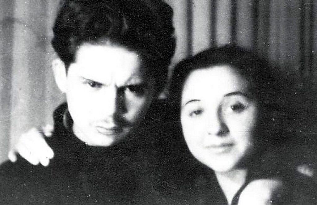 Nicolae Labiș și Maria Margareta Labiș
